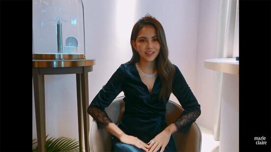 昆凌:「戴上Chaumet Joséphine系列珠寶,期許自己今後不只是被捧在手心的公主,也是可以照顧家庭的女王。」【現場直擊】