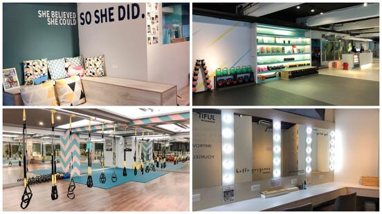 讓女孩自在的運動空間,盤點3間女性健身房:輕適能運動空間、好時光女生運動樂園、Lioness Studio,健身新手完全不用怕!