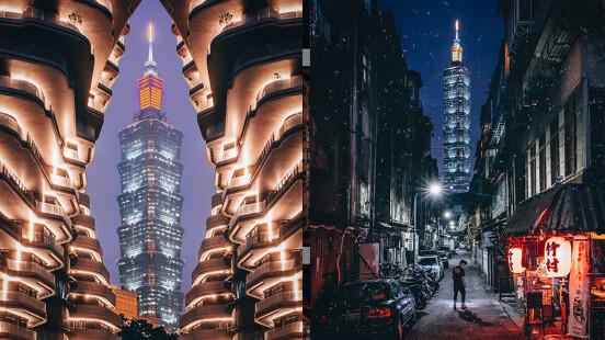 最美的風景在台灣!從台北101到廟宇燈籠海,泰國攝影師用特殊視角紀錄下最美瞬間!