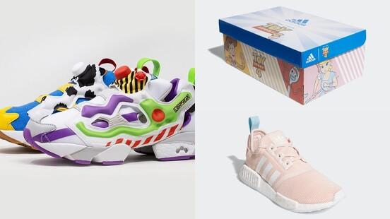 最萌的玩具總動員聯名球鞋都在這!ADIDAS推出NMD牧羊女粉嫩配色、REEBOK聯手BAIT打造胡迪和巴斯光年主題球鞋