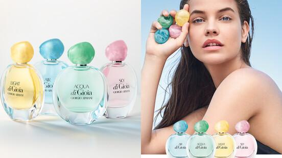 GA di Gioia寄情水淡香精以晨曦、暮色、空氣與水為妳打造4款不同個性、層次分明的清新調香氣!