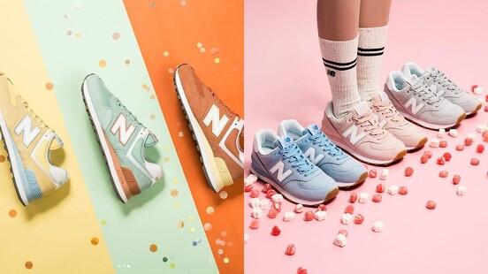 全都是繽紛的糖果色調!New Balance 574鞋款再推天空藍、柔霧粉、檸檬萊姆綠等新色