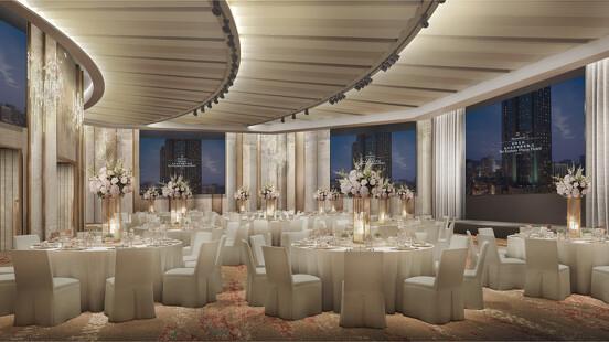 香格里拉台北遠東國際大飯店 變身藝術殿堂!25週年改裝遠東宴會廳 結合宋代美學與科技巨幕天際