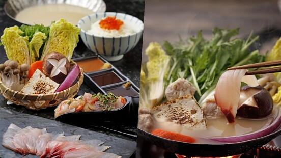 天冷就是要吃鍋!日本橋海鮮丼つじ半推「湯霜鮮魚野菜鍋」,加入8種海鮮的職人頂級鍋物