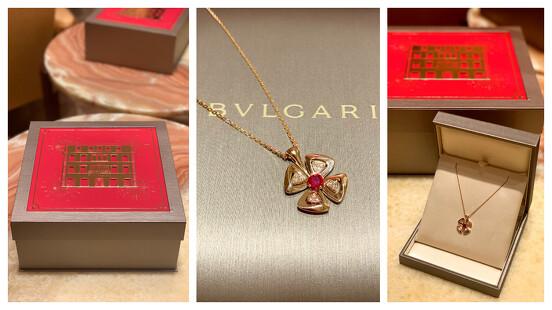 【試戴報告】這禮盒太美!BVLGARI 寶格麗推出農曆新年限定款,超喜氣紅色包裝讓妳好運一整年!