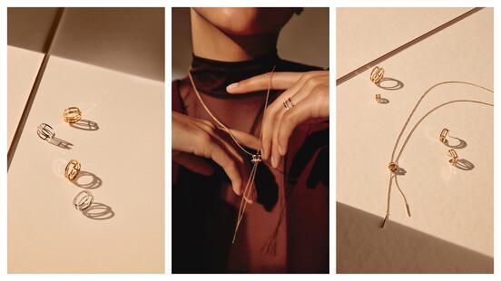 可調長度的項鍊、個性耳骨夾,De Beers Horizon 珠寶系列推出超時髦全新作品,每天配戴很可以!