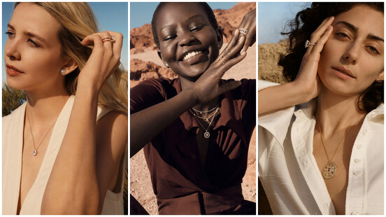 每個女人都是獨特的存在,De Beers 全新形象廣告以自然生動的寫實影像,傳遞自然美的魅力。