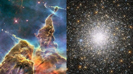 快看你的「生日星象」有多美?NASA慶祝哈伯望遠鏡登上太空30周年,輸入出生日期就看到專屬星空美照