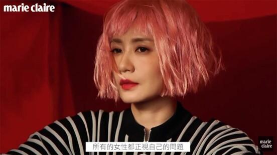 粉紅色短髮的 賈靜雯 太狂!正能量女神再突破,2020年再度向各位證明女王地位,無可取代!