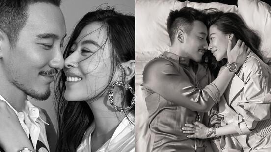 甜蜜夫妻、新手爸媽,王陽明&蔡詩芸:「婚姻是一生承諾,當彼此交換靈魂時,就要給對方足夠的安全感。」