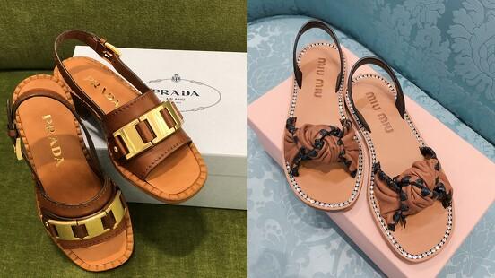 夏天就是要穿美美的涼鞋!精品涼鞋一次看:Gucci、Balenciaga、Miu Miu⋯(不斷更新