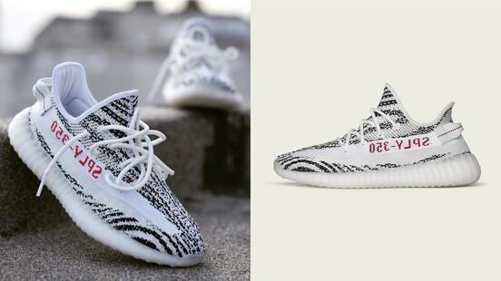 一雙難求的斑馬鞋即將補貨!adidas Yeezy Boost 350斑馬紋引進男女尺寸,獨家在adidas官網上架