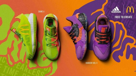 實在太瘋狂!adidas聯手速食龍頭麥當勞,把糖醋醬、蒜味辣椒醬變成籃球鞋