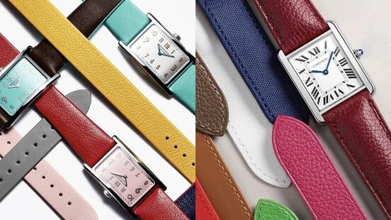 夏天就是要戴彩色手錶!Tiffany藍白撞色、Hermes橘、Cartier 12種顏色…推薦清單持續更新
