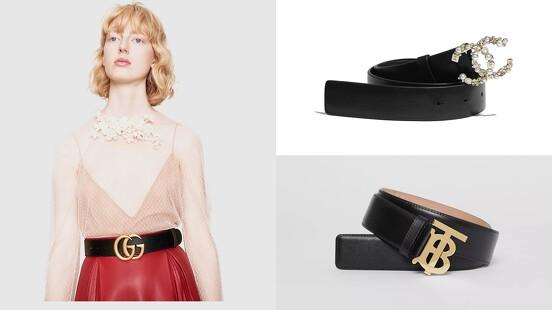 繫的是精神不是奢侈!盤點Chanel、Hermès、LV、Dior、Gucci…14款精品Logo皮帶
