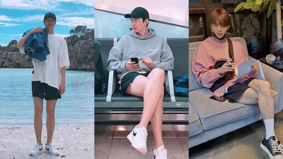 李敏鎬 各種長腿看不膩!穠纖合度、自在有型,完全就是夏日最佳男友穿搭教科書!