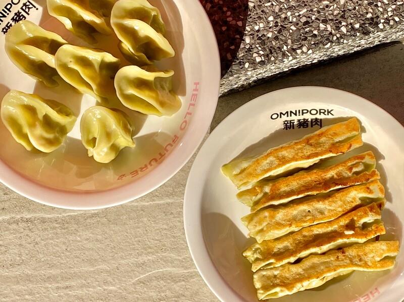 素食者有福了!八方雲集精心研發「蔬食水餃鍋貼」超擬真植物肉製成!網爆動:流口水了