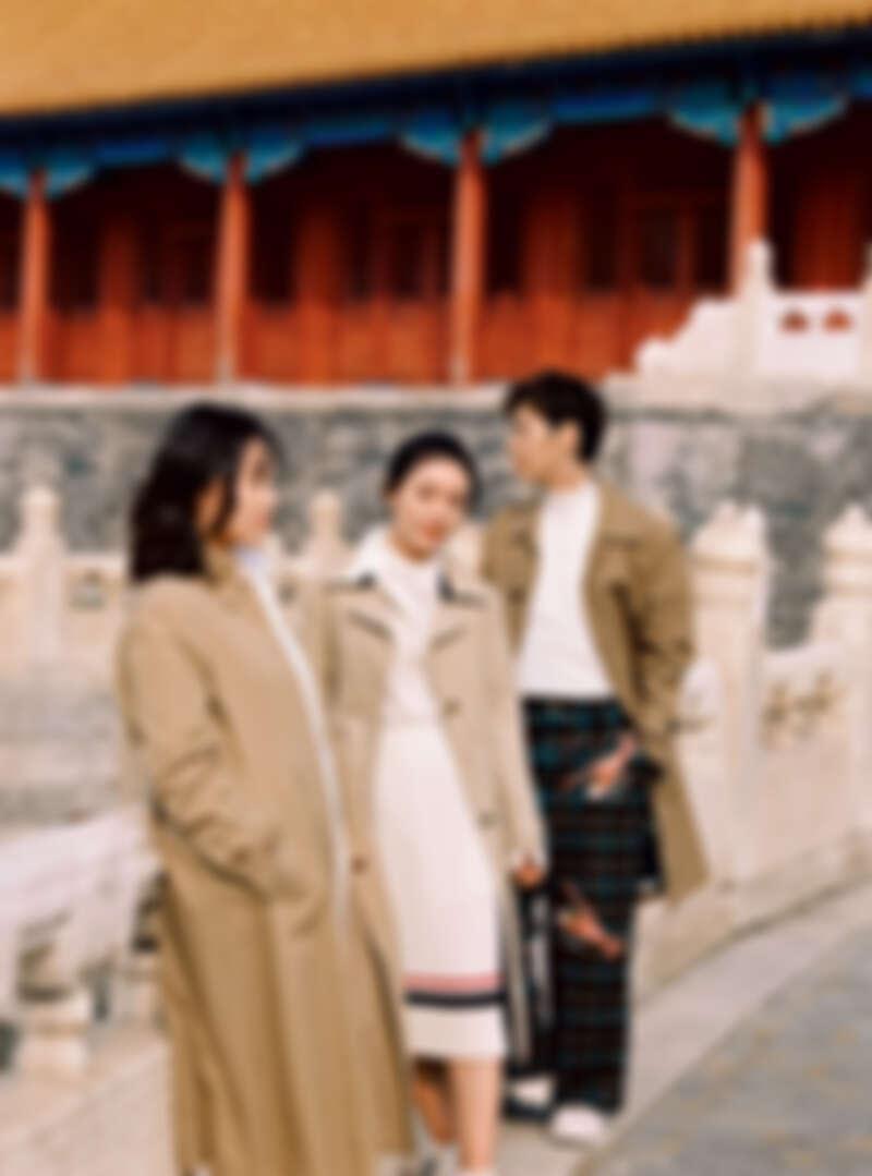 (由左至右:徐婕、劉瀟雨、龍梓嘉。)