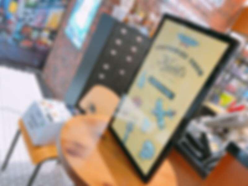 Kiehl's客製化貼紙機