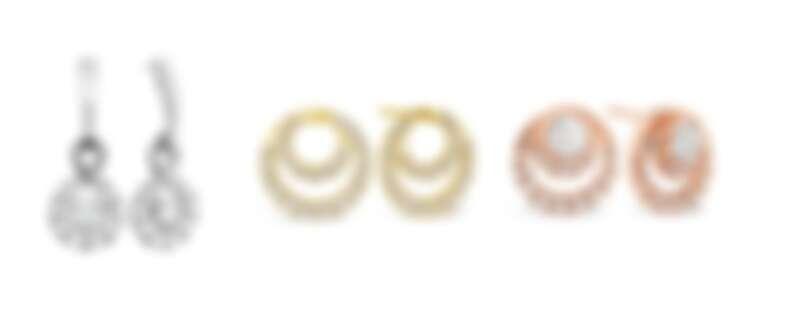 HEARTS ON FIRE OPTIMA系列 白K金鑽石耳環、黃K金鑽石耳環、玫瑰金鑽石耳環