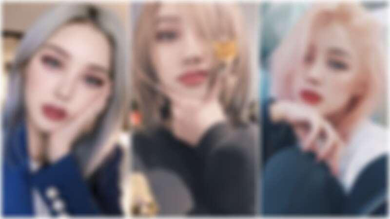 韓國彩妝師PONY喜歡在頭髮上玩色彩,染後護髮的工夫也不馬虎。