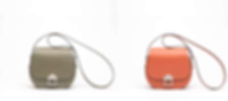 Loulou系列綠色肩背包/Loulou系列橘色肩背包