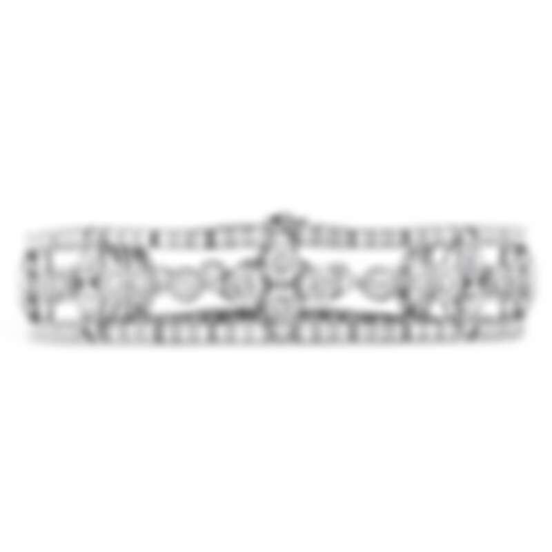 AERIAL REGAL白K金鑽石手環