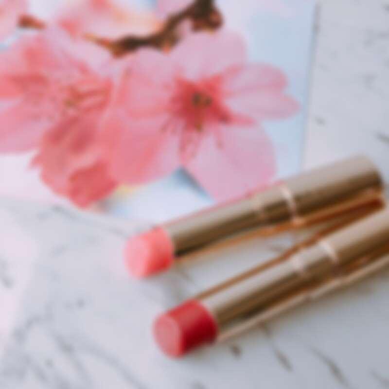 OPERA渲漾水色唇膏-春漾限定花瓣唇色#09櫻花、#10紅梅