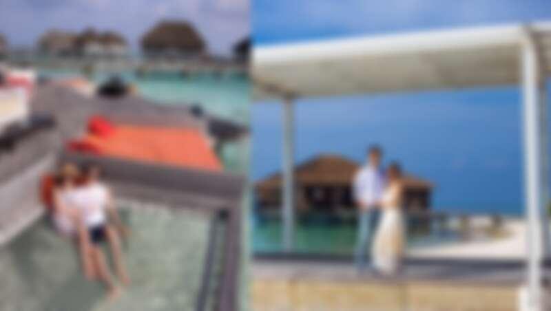 楊千霈夫婦Club Med馬爾地夫之旅,入住這麼寧靜、有質感的的Club Med芬尼芙別墅,海天一色十分療癒