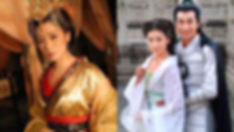 賈靜雯在《至尊紅顏》中飾演武媚娘