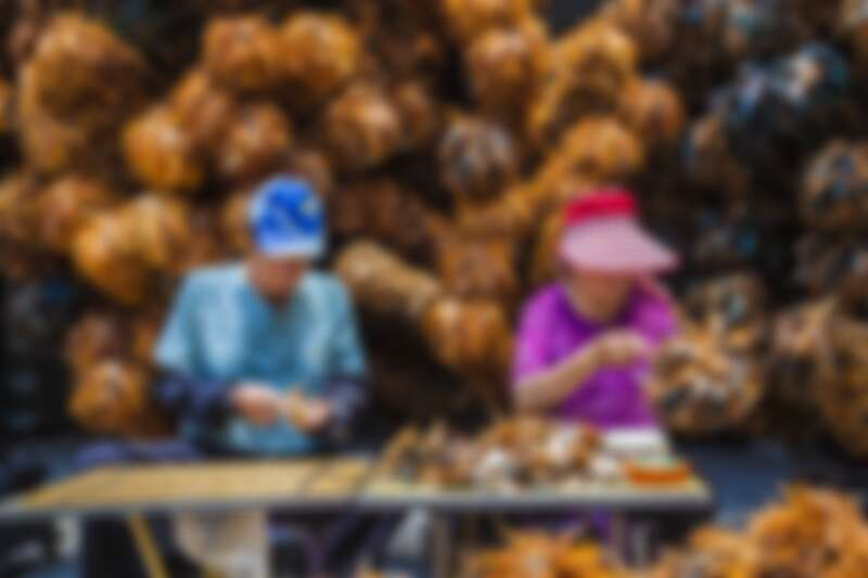 彰化國寶級雞毛撢子職人陳忠露夫婦