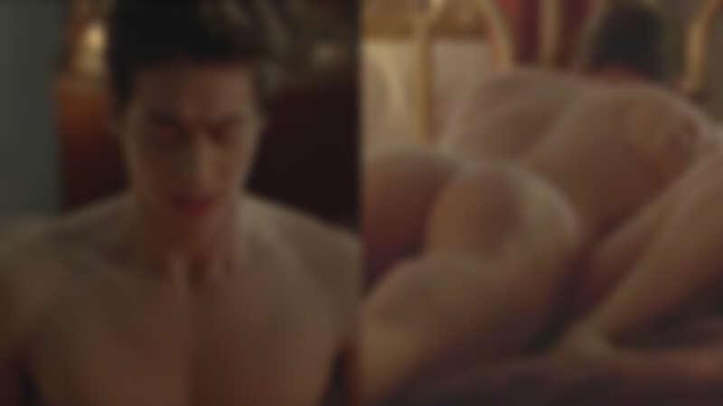 林敬倫全裸演出《樓下的房客》