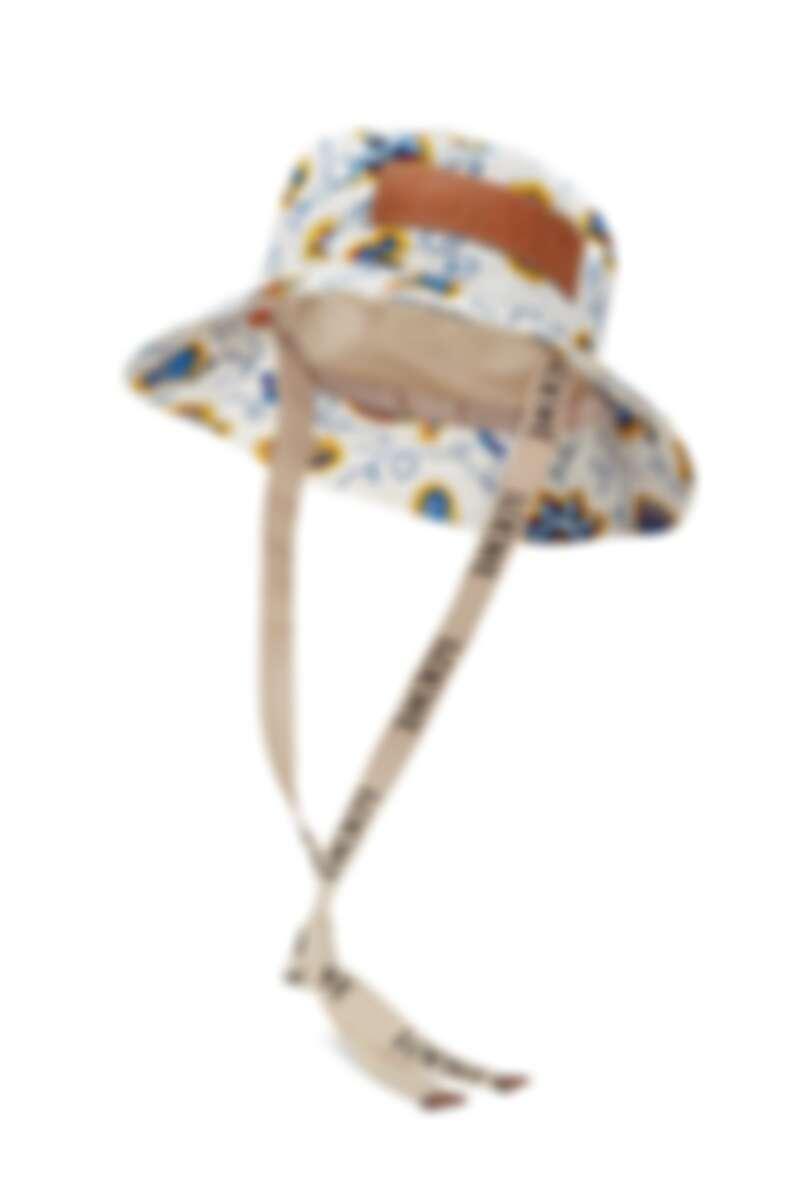 Paula's 白色印花漁夫帽,約NT16,000。