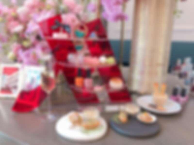 OPI x台北萬豪酒店聯名下午茶