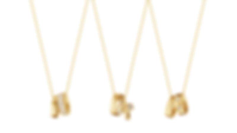 MAGIC系列18K黃金鑽石鍊墜