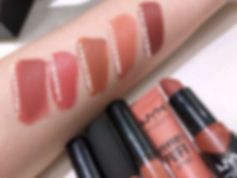 NYX Professional Makeup 2019最推薦口紅Top 5手部試色