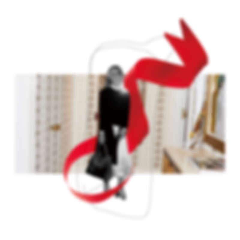 紅色緞帶是Tory Burch旅行時不離身的幸運物