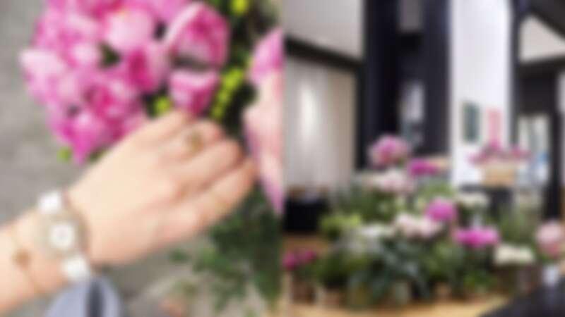 Piaget 限定玫瑰花店開張!
