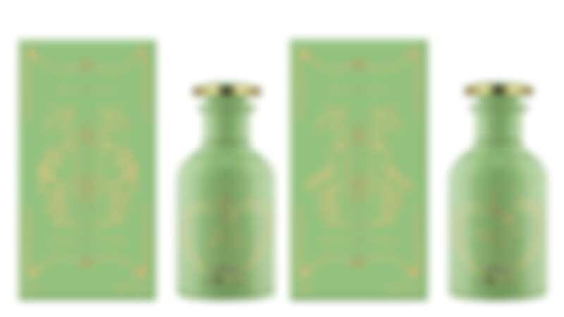 4款香氛精油盛裝於鼠尾草綠的漆瓶中,並以精緻玻璃滴管的方式為特色。