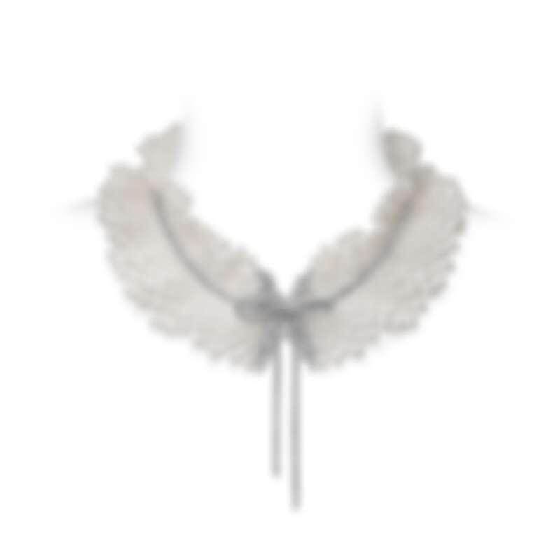 MIKIMOTO Jeux de Rubans 頂級珠寶系列-日本Akoya珍珠鑽石蝴蝶結墜飾項鍊,建議售價NT$670萬元
