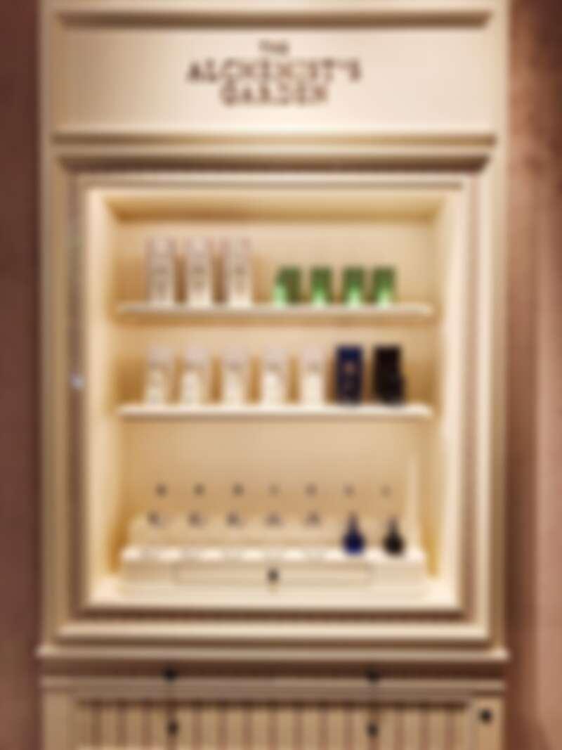 位於新光三越A4的香水陳列