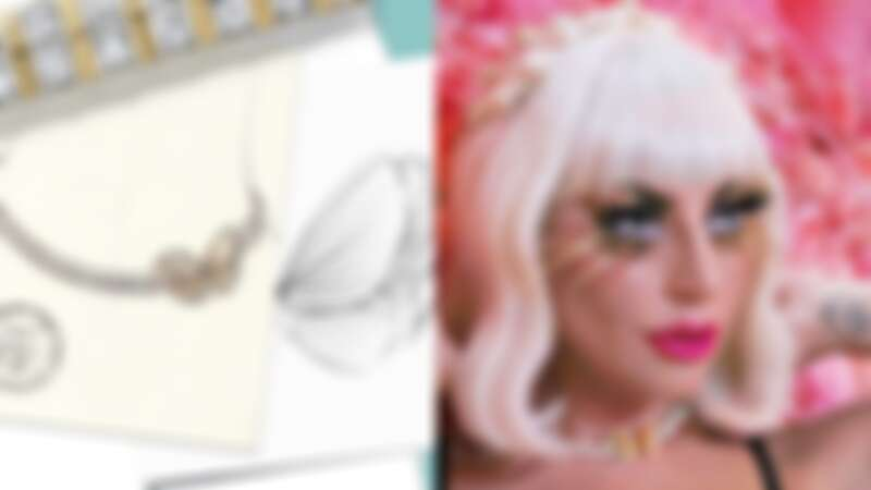 Lady Gaga穿戴以Tiffany鑲嵌總重逾28克拉公主式切割項鍊登場!