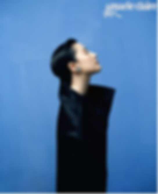 黑色輪廓上衣 Masion Margiela Artisanal Designed by John Galliano,LES TALISMANS DE CHANEL系列ATTIRANTE耳環