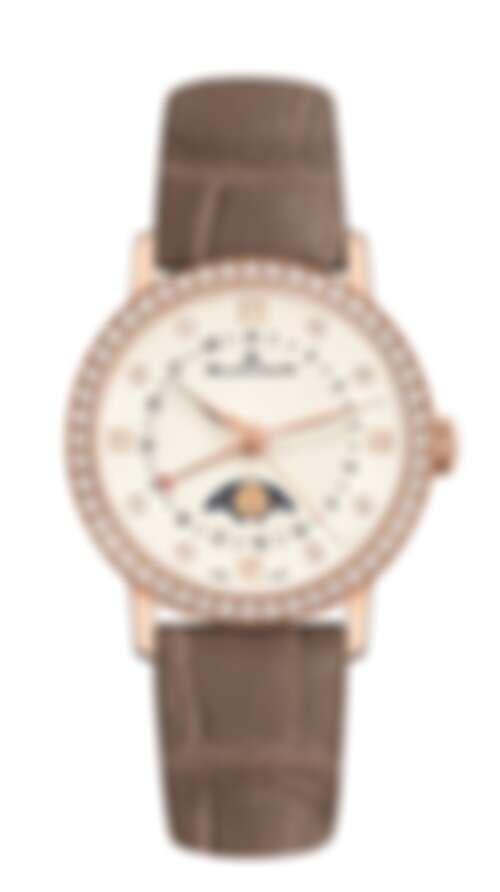 Blancpain Villeret月亮美人日曆腕錶