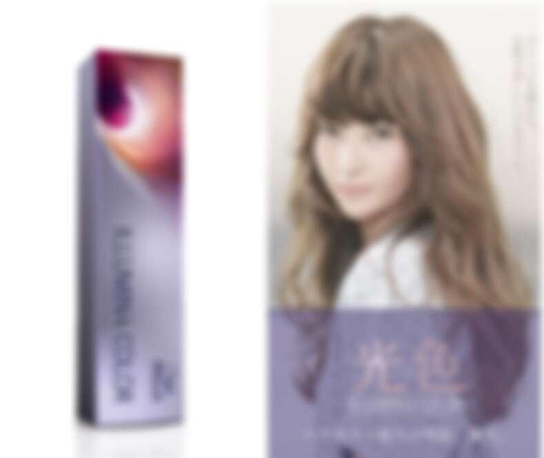 「威娜極緻光染髮膏日韓版」因為以灰紫色調為基底可以中和東方人髮中的橘黃調,染後髮色看起來就不會乾黃,而會形成質感的粉霧透光髮色。