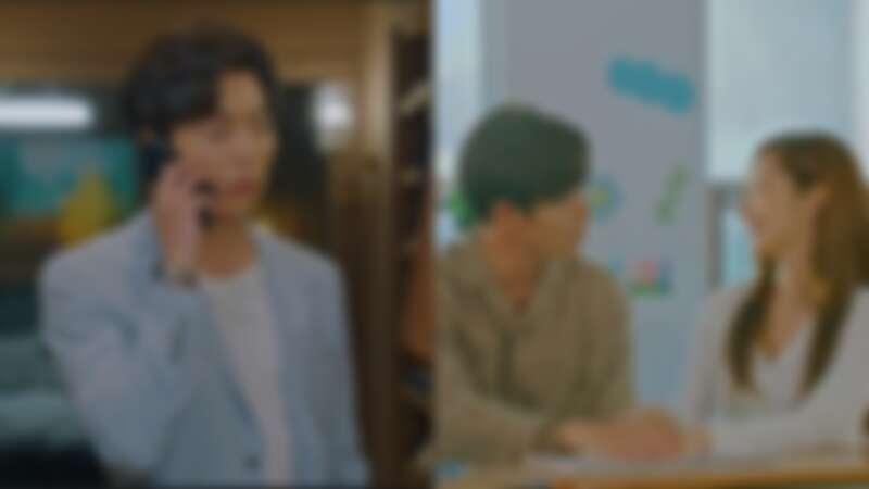 韓劇《她的私生活》13集-男主角金材昱配戴TAG Heuer 腕錶 (圖片來源-愛奇藝)