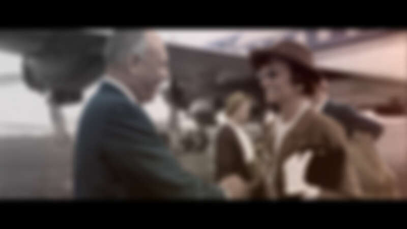 Chanel 女士在30年代前往美國的資料圖片。