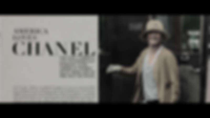 Chanel女士初訪紐約,在當地成為媒體爭相訪問的對象。