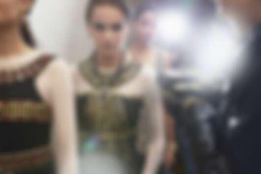 Chanel 2019工坊大秀後台。