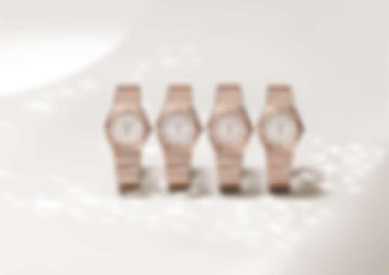 OMEGA 歐米茄 星座系列曼哈頓 珠寶腕錶